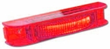 Red Thin-Line LED Lamp