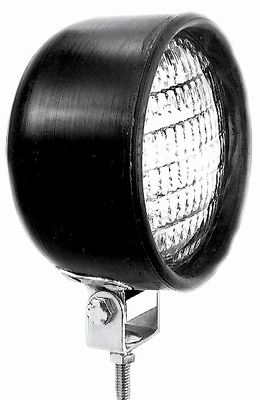 Rubber Work Lamp W/Replacable H-3 bulb