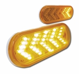 Sequential Arrow Amber Led Light