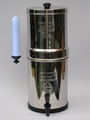 BIG BERKEY filter with 2-7 inch Doulton / British Berkefeld Super Sterasyl Candles