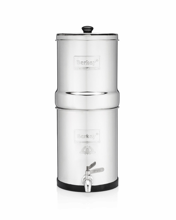 Crown Berkey Purification System 6.0 Gallon with 2 Black Berkey filters