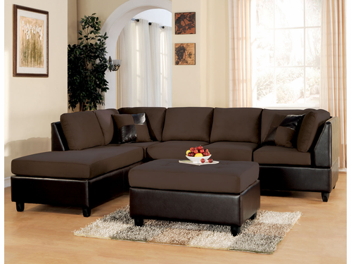 2 PCs Sectional Sofa