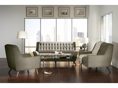 2 PCs Sofa/Loveseat Set