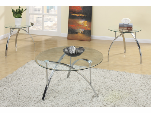 3-PCs Pack Coffee/End Table Set