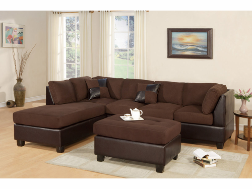 3 PCs Sectional Sofa