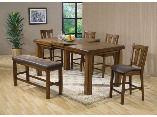 6 PCs Counter Height Dining Set
