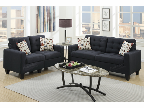Poundex Furniture Item F6903: 2-PCs Sofa Set