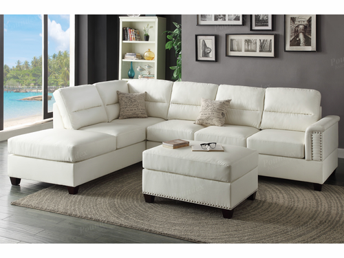 Bobkona 3-PCS Sectional Sofa