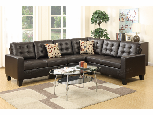 Bobkona 4-PCS Modular Sectional Sofa Set