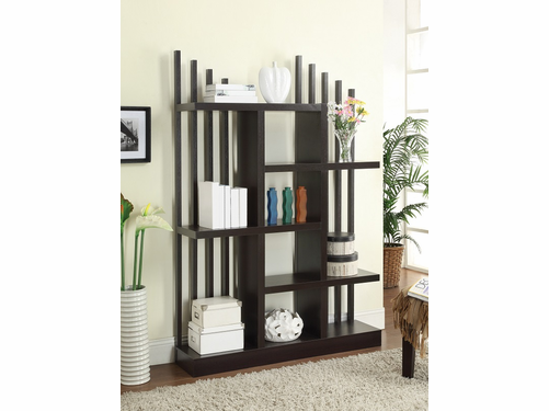 Cappuccino Finish Bookcase
