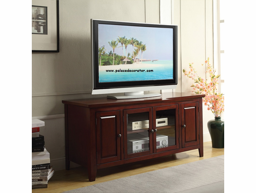 Christella Cherry Finish TV Console