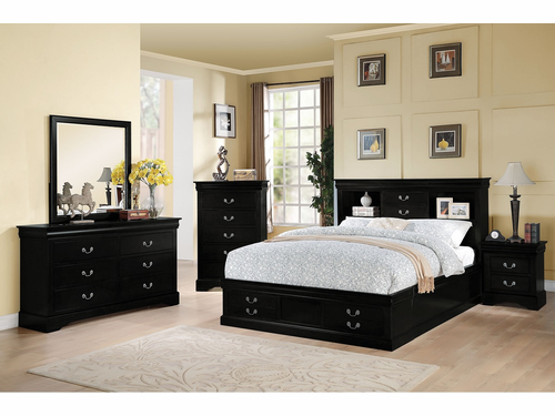 Eastern King Bed Frame W/Storage.