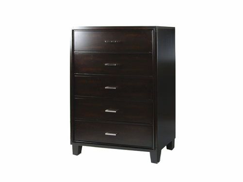 Enrico I Collection Espresso Finish Chest