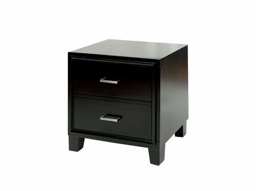 Enrico I Collection Espresso Finish Nightstand