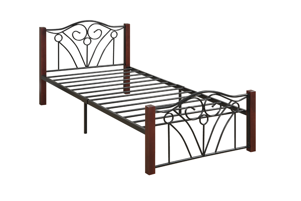 Twin bed frame with mattress twin bed frame and mattress for Cheap metal twin bed frame