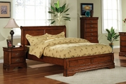 Venice Collections Full Size Sleigh Bed Frame