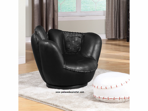 Item 05522: All Star Baseball 2 PC Pack Chair & Ottoman