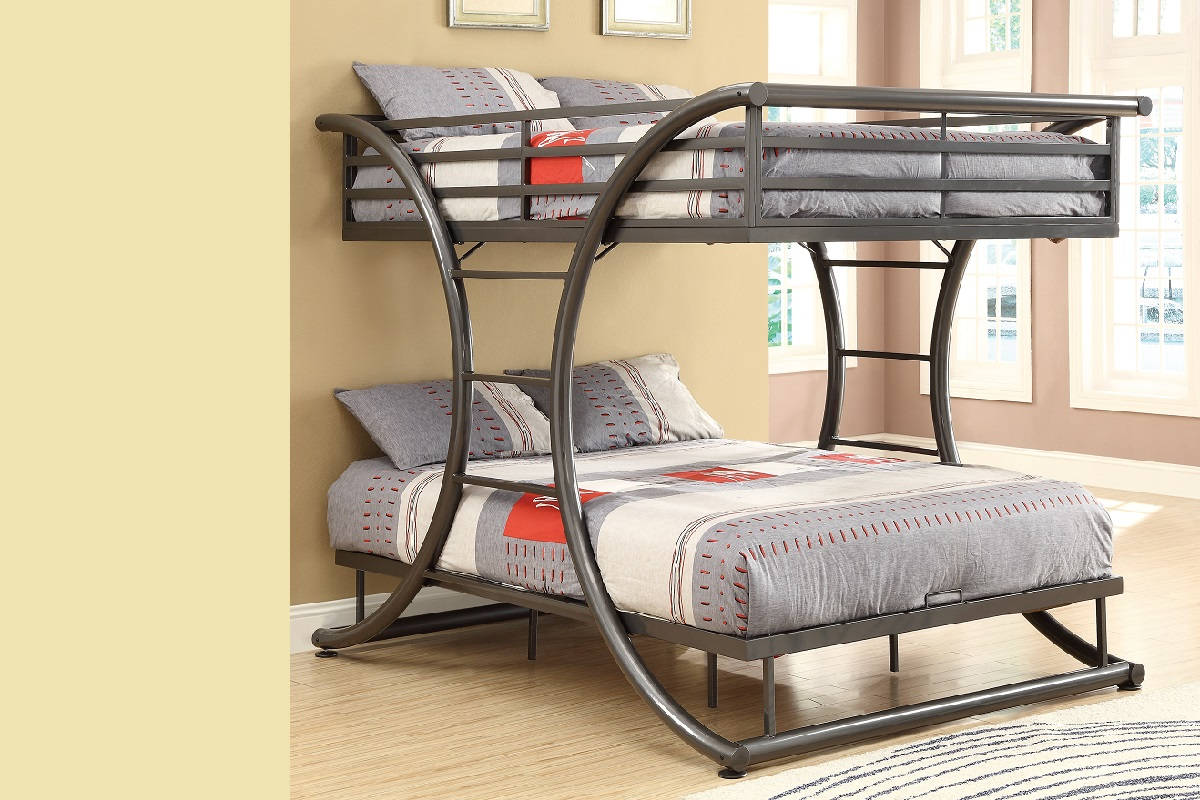 Bunk beds for teenager space saving loft beds bunk beds for Cheap bunk bed frames