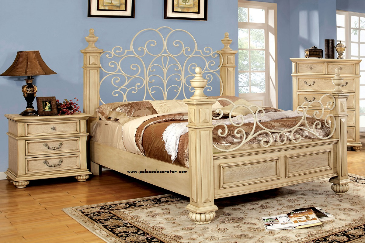 waldenburg collection california king bed frame