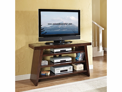 Jelani Brown Cherry TV Console