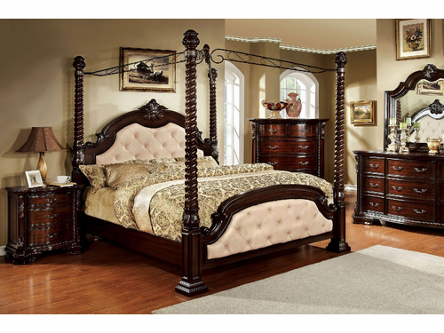 Monte Vista Cal. King  Canopy Bed Frame