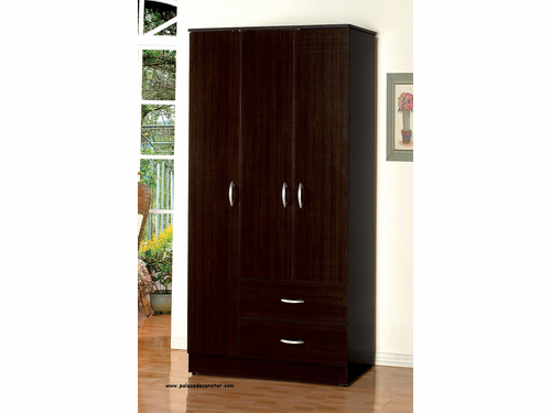Olean Espresso Finish Wardrobe