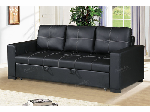 Poundex Associates Item F6530: Convertible Sofa