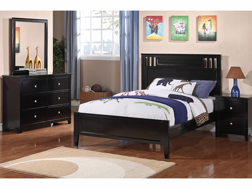 Poundex Furniture Item F9046F: Full Size Bed Frame