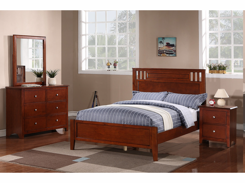 Poundex Furniture Item F9047F: Full Size Bed Frame