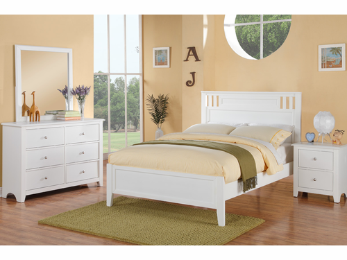 Poundex Furniture Item F9123F: Full Size Bed Frame