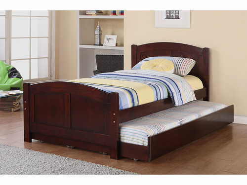 Poundex Furniture Item F9217: Twin Size Bed W/Trundle