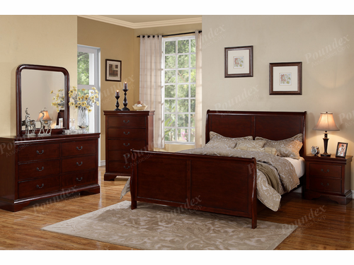 Poundex Furniture Item F9231F: Full Size Bed Frame