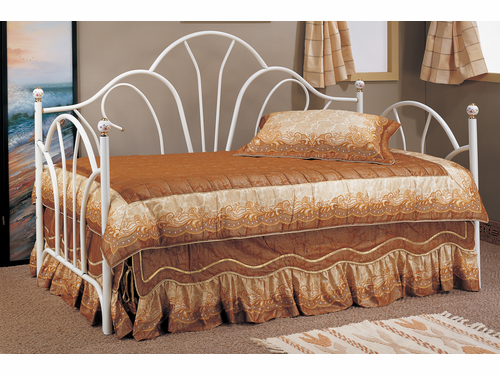 Poundex Furniture Item F9235:  Metal Frame Day Bed