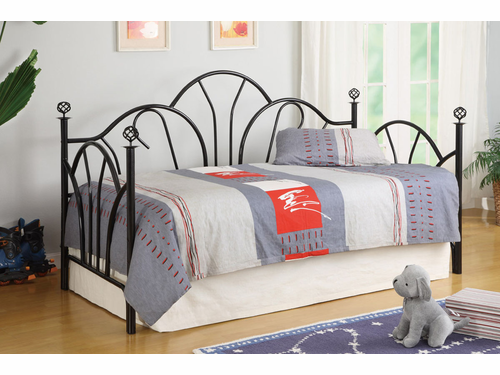 Poundex Furniture Item F9237:  Metal Frame Day Bed