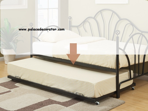 Poundex Furniture Item F9238: Day Bed Trundle