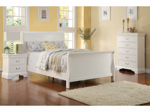 Poundex Furniture Item F9254T: Twin Size Bed Frame