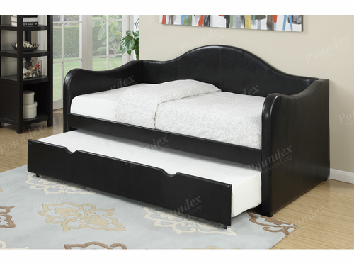 Poundex Furniture Item F9260: Upholstered Day Bed Frame