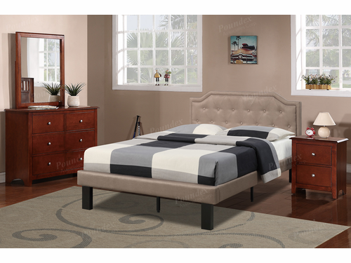 Poundex Furniture Item F9345F: Full Size Bed Frame