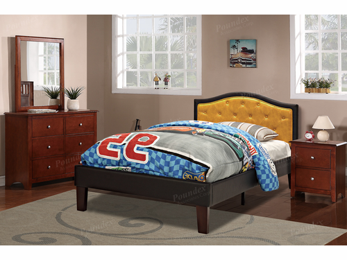 Poundex Furniture Item F9361T: Twin Size Bed Frame