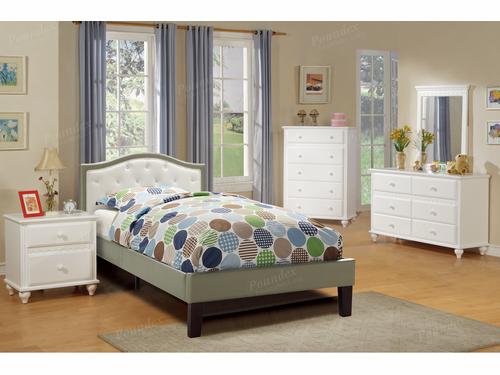 Poundex Furniture Item F9363T: Twin Size Bed Frame