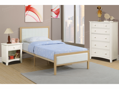Poundex Furniture Item F9392T: Twin Size Metal Bed Frame