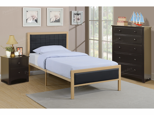 Poundex Furniture Item F9393F:  Full Size Metal Bed Frame