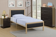 Poundex Furniture Item F9393T: Twin Size Metal Bed Frame