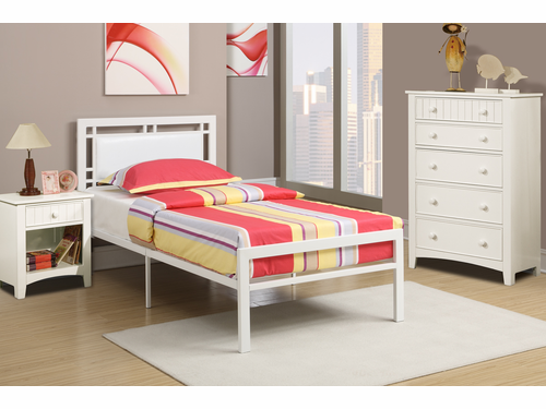 Poundex Furniture Item F9414F:  Full Size Metal Bed Frame