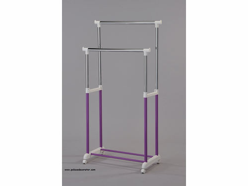 Purple Finish Garment Rack