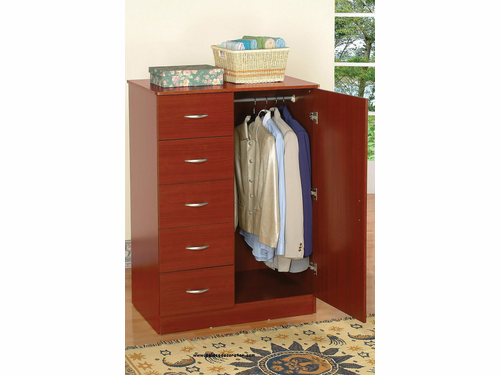 Tuxedo Cherry Finish Wardrobe