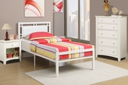 Poundex Furniture Item F9414T: Twin Size Metal Bed Frame