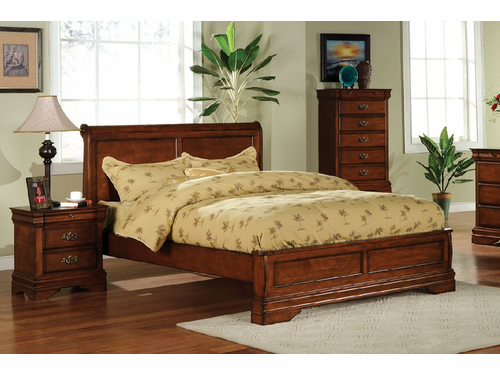Venice Collections Eastern King Low Profile Bed Frame