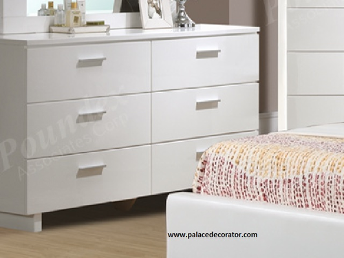 White Finish Dresser
