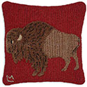 American Bison Buffalo Bills Pillow